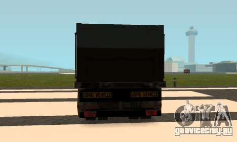 PS2 Article Trailer 2 для GTA San Andreas вид сзади