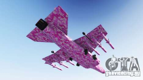 Hydra pink urban camouflage для GTA 5 второй скриншот