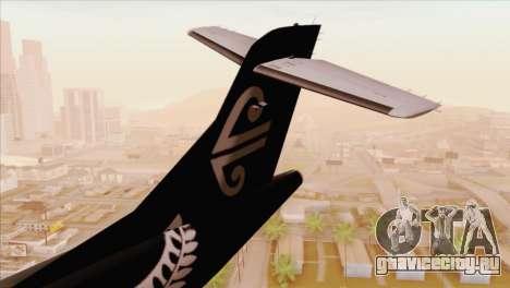 ATR 72-500 Air New Zealand для GTA San Andreas вид сзади слева