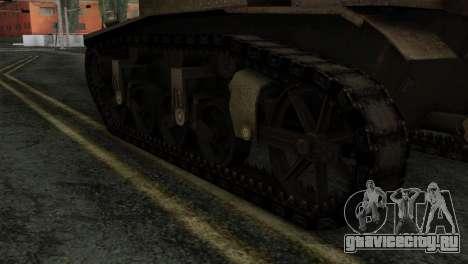 T18 для GTA San Andreas вид сзади слева