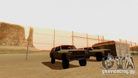 DLC 3.0 Военное обновление для GTA San Andreas двенадцатый скриншот