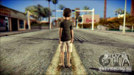 Dante Brother Child Skin для GTA San Andreas второй скриншот