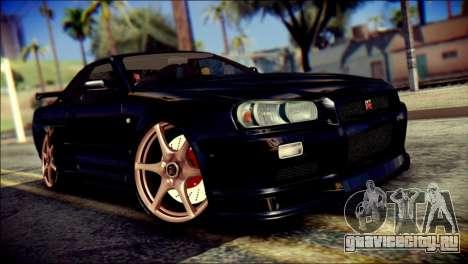 Nissan Skyline GTR V Spec II v2 для GTA San Andreas