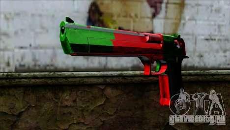 Desert Eagle Portugal для GTA San Andreas