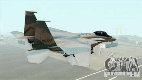 McDonnell Douglas F-15D Philippine Air Force для GTA San Andreas вид слева