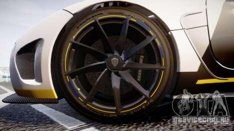 Koenigsegg Agera 2013 Police [EPM] v1.1 Low Qual для GTA 4 вид сзади