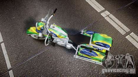 GTA V Western Motorcycle Company Sovereign BRA для GTA 4 вид справа