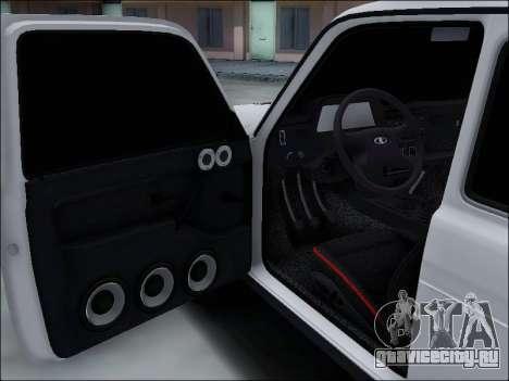 Lada Niva для GTA San Andreas вид снизу