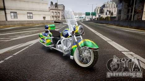 GTA V Western Motorcycle Company Sovereign BRA для GTA 4
