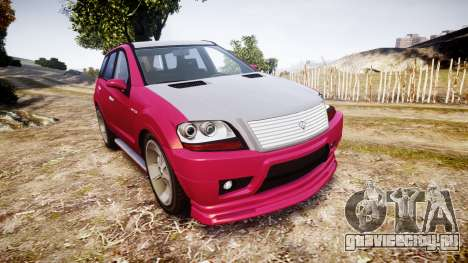 GTA V Benefactor Serrano для GTA 4