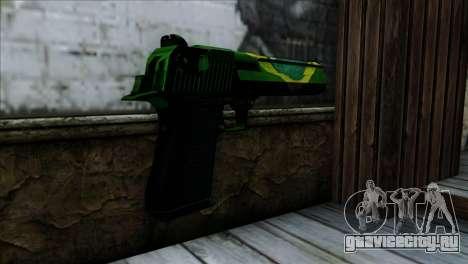 Desert Eagle Brazil для GTA San Andreas второй скриншот