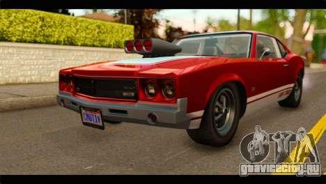 GTA 5 Declasse Sabre GT Turbo для GTA San Andreas
