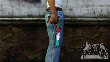 Desert Eagle Italia для GTA San Andreas третий скриншот