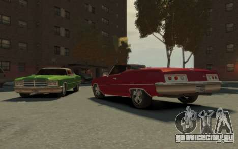 GTA 3 Yardie Lobo HD для GTA 4 вид изнутри