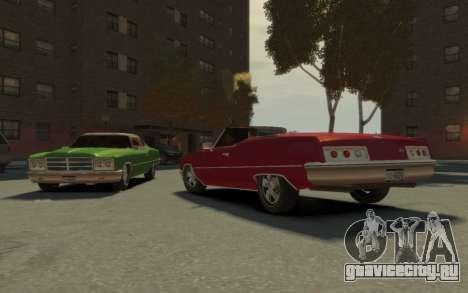 GTA 3 Yardie Lobo HD для GTA 4 вид изнутри