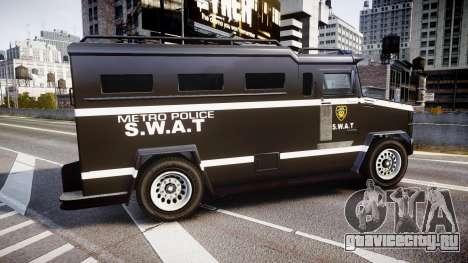 GTA V Brute Police Riot [ELS] skin 5 для GTA 4 вид слева