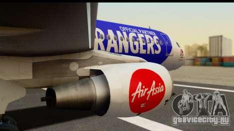 Airbus A320-200 AirAsia Queens Park Rangers для GTA San Andreas вид справа