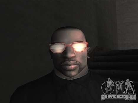 Новые очки для CJ для GTA San Andreas девятый скриншот