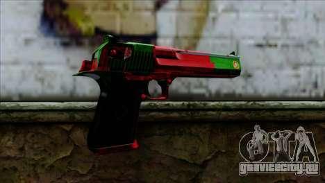 Desert Eagle Portugal для GTA San Andreas второй скриншот
