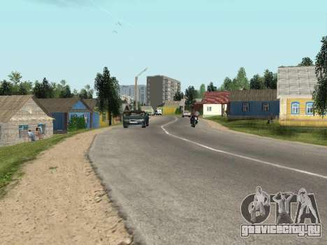 Простоквасино для GTA Criminal Russia beta 2 для GTA San Andreas второй скриншот