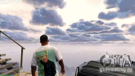 Футболка для Франклина - Физрук для GTA 5 второй скриншот