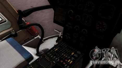 MBB BO-105 Basarnas для GTA San Andreas вид справа