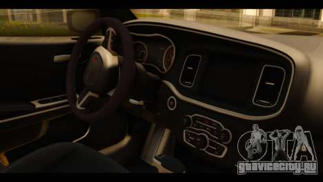 Dodge Charger RT 2015 Hestia для GTA San Andreas вид справа
