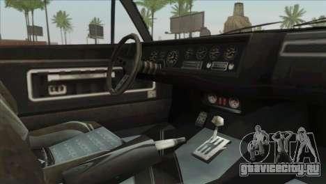 GTA 5 Declasse Stallion для GTA San Andreas вид справа