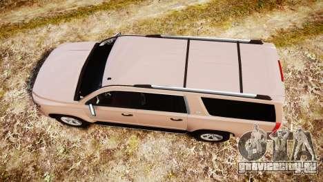 Chevrolet Suburban LTZ 2015 для GTA 4 вид справа