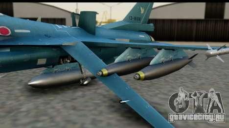 F-2A Viper Blue для GTA San Andreas вид справа