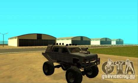Hellish Extreme CripVoz RomeRo 2015 для GTA San Andreas двигатель