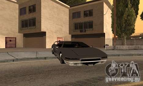Infernus BanDit для GTA San Andreas вид слева