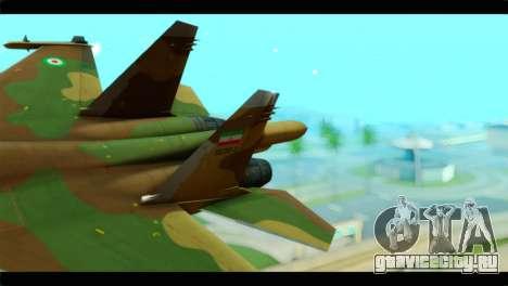 Sukhoi SU-34 IRIAF для GTA San Andreas вид сзади слева