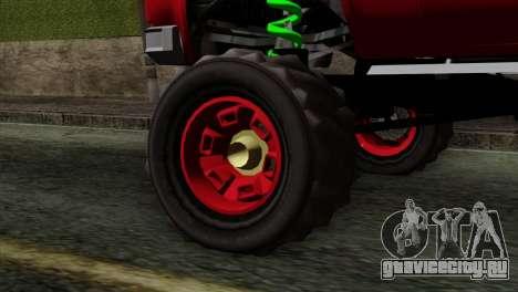Bobcat Fx4 для GTA San Andreas вид сзади слева