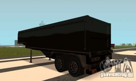 PS2 Article Trailer 2 для GTA San Andreas вид сзади слева