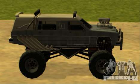 Hellish Extreme CripVoz RomeRo 2015 для GTA San Andreas вид сбоку