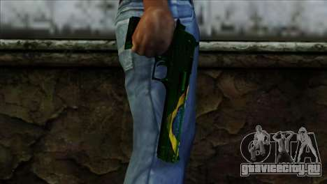 Desert Eagle Brazil для GTA San Andreas третий скриншот