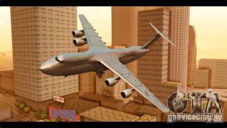 Lockheed C-5M RCAF для GTA San Andreas