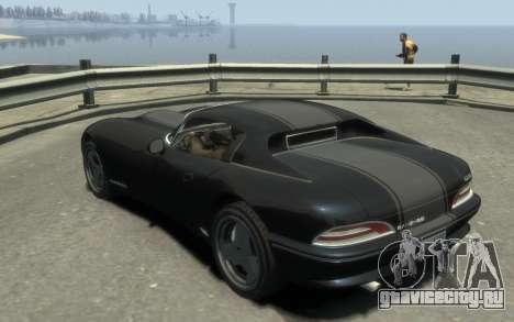 GTA 3 Bravado Banshee HD для GTA 4 вид слева