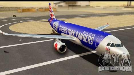 Airbus A320-200 AirAsia Queens Park Rangers для GTA San Andreas