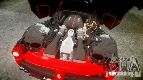 Ferrari LaFerrari 2013 HQ [EPM] PJ3 для GTA 4 вид сверху
