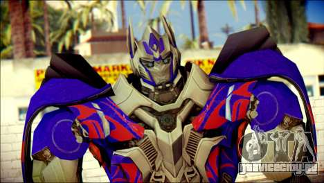 Optimus Prime Skin from Transformers для GTA San Andreas третий скриншот