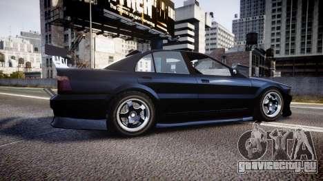 Maibatsu Vincent 16V Drift для GTA 4 вид слева