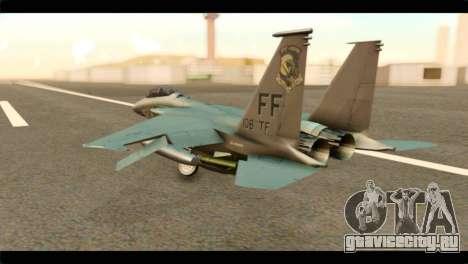 McDonnell Douglas F-15E Strike Eagle для GTA San Andreas вид слева