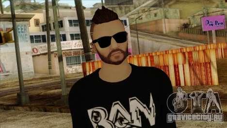 Skin 1 from GTA 5 для GTA San Andreas третий скриншот
