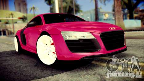 Audi R8 V10 Plus 5.2 FSI 2013 для GTA San Andreas