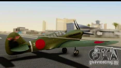 P-40E Kittyhawk IJAAF для GTA San Andreas вид слева