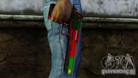Desert Eagle Portugal для GTA San Andreas третий скриншот