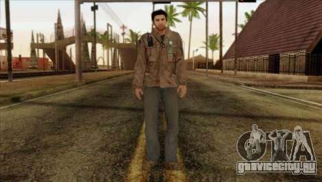 Classic Alex Shepherd Skin для GTA San Andreas