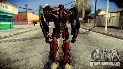 Stinger Skin from Transformers для GTA San Andreas второй скриншот